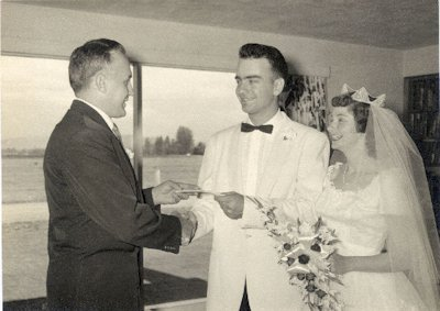 Mr. and Mrs. Paul Noll - 1955 - Photo 1